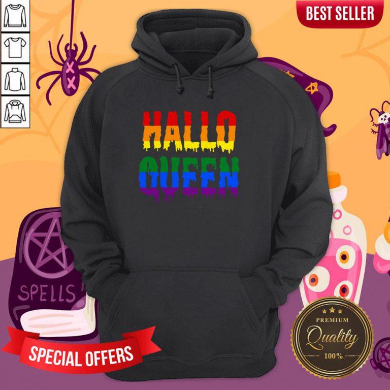 Halloqueen LGBTQ Rainbow Pride Halloween Hoodie