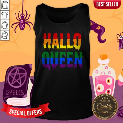 Halloqueen LGBTQ Rainbow Pride Halloween Tank Top