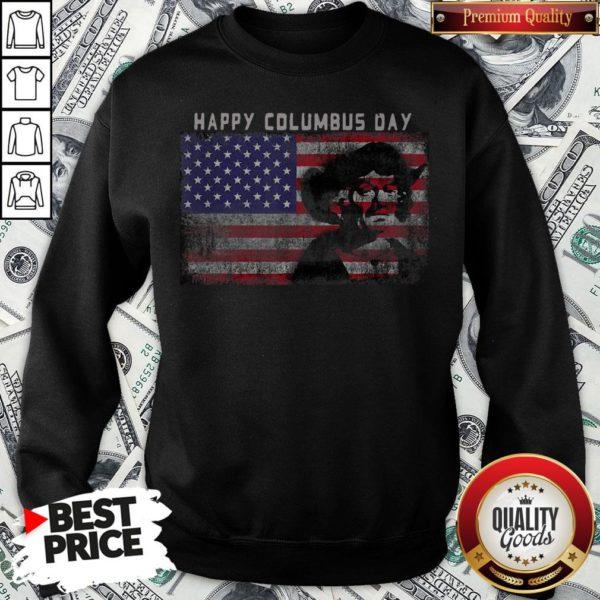 Happy Columbus Day Italian Explorer America Discovery Sweatshirt - Design By Waretees.com