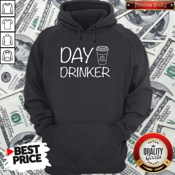 Happy Day Drinker Hoodie - Design By Waretees.com