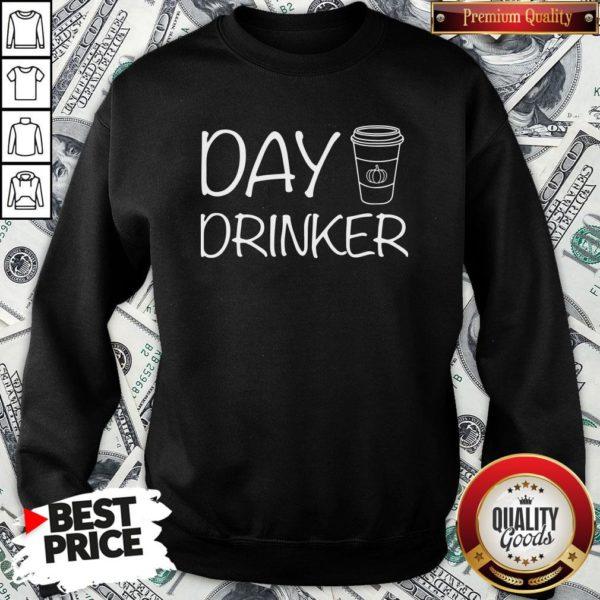 Happy Day Drinker Sweatshirt - Design By Waretees.com