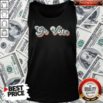 Happy Go Vote Vintage Tank Top
