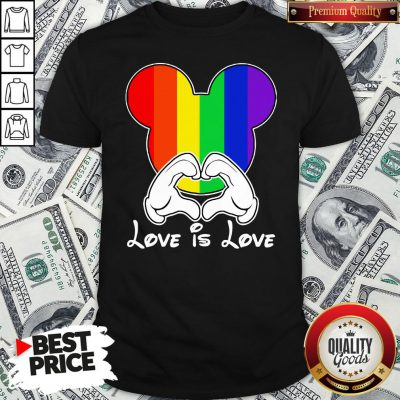 Happy Mickey Mouse Love Is Love 2020 Shirt - Design By Waretees.com