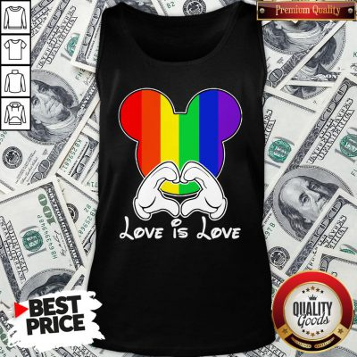 Happy Mickey Mouse Love Is Love 2020 Tank Top - Design By Waretees.com