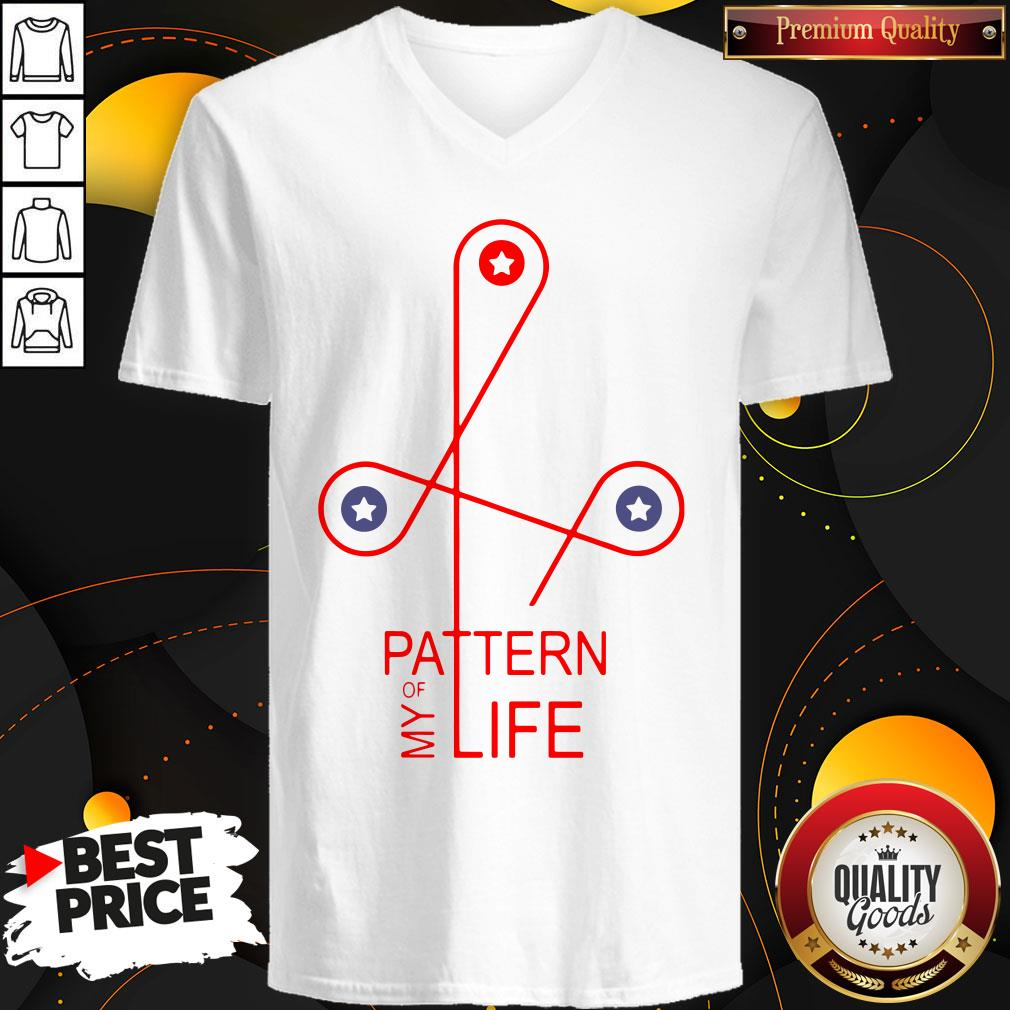 Happy Pattern Of My Life V-neck - Design By Waretees.com