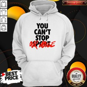 Happy You Cant Stop Vote Hoodie - Design By Waretees.com