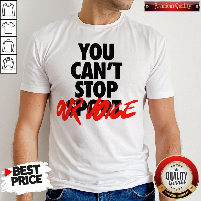 Happy You Cant Stop Vote Shirt - Design By Waretees.com