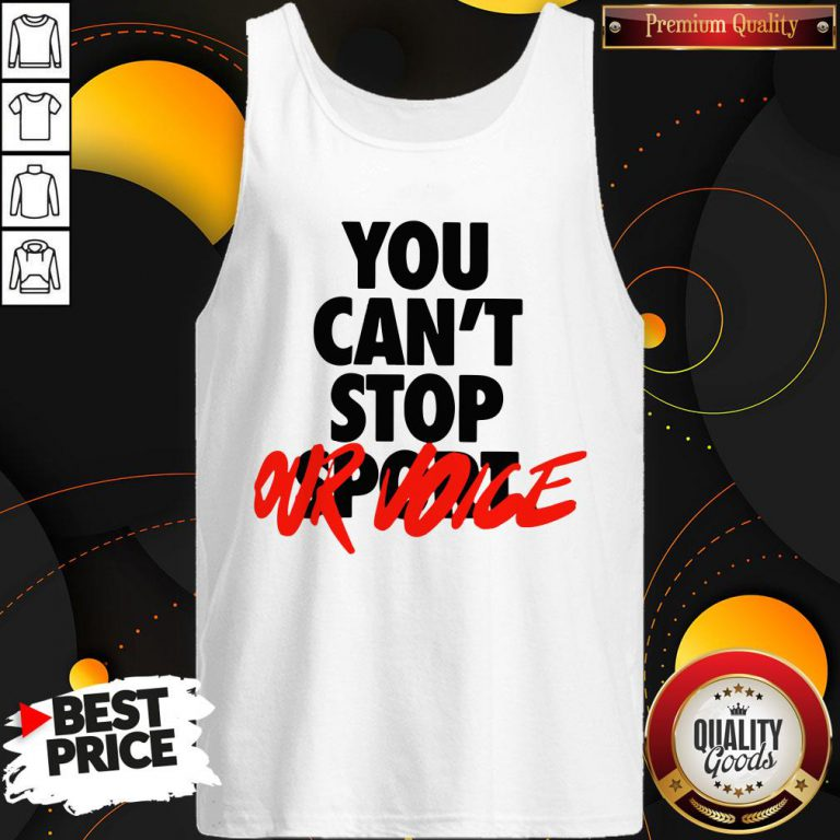 Happy You Cant Stop Vote Tank Top - Design By Waretees.com