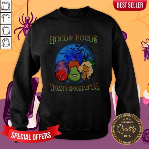 Hocus Pocus Vegan's Spooktacular Halloween Sweatshirt