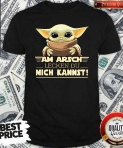 Hot Baby Yodda Am Arsch Lecken Du Mich Kannst Shirt - Design By Waretees.com