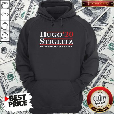 Hugo Stiglitz 2020 Bringing Slayers Back Hoodie - Design By Waretees.com