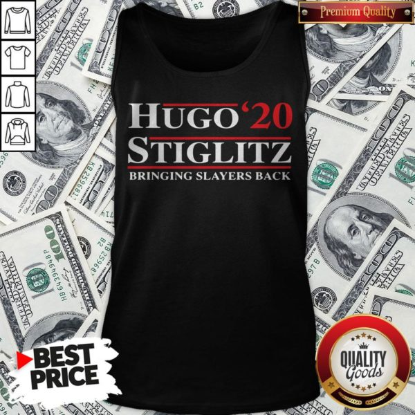 Hugo Stiglitz 2020 Bringing Slayers Back Tank Top - Design By Waretees.com