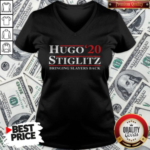 Hugo Stiglitz 2020 Bringing Slayers Back V-neck - Design By Waretees.com