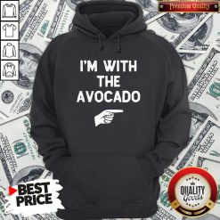 I'm With The Avocado Costume Halloween Matching Hoodie - Design By Waretees.com