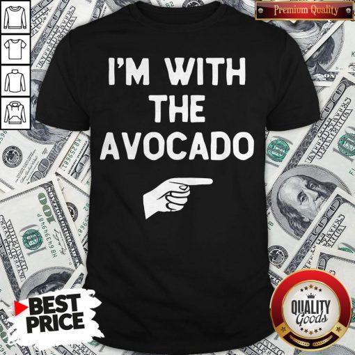 I'm With The Avocado Costume Halloween Matching Shirt - Design By Waretees.com