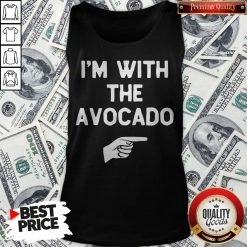 I'm With The Avocado Costume Halloween Matching Tank Top - Design By Waretees.com