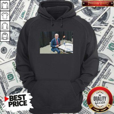 Joe Biden With The Fly Hoodie - Design By Waretees.com