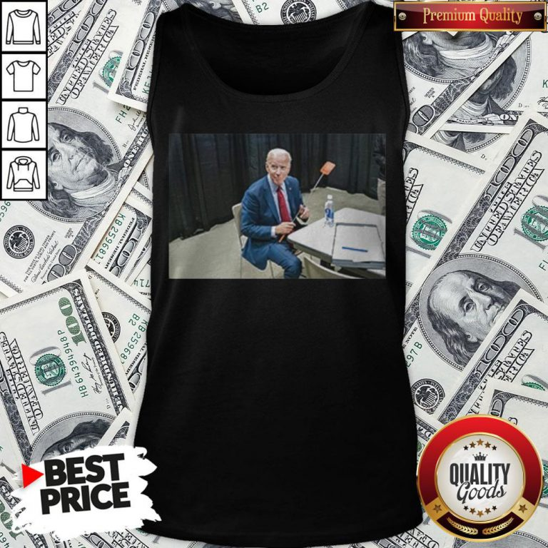 Joe Biden With The Fly Tank Top - Design By Waretees.com