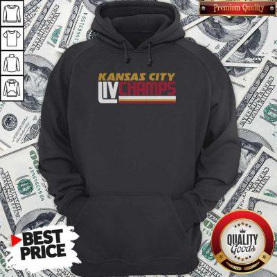 Kansas City Liv Champs Hoodie