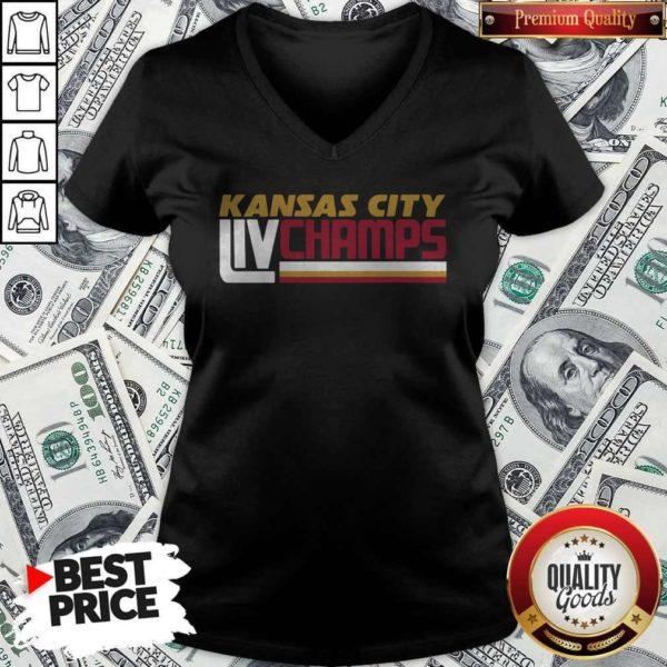 Kansas City Liv Champs V-neckKansas City Liv Champs V-neck