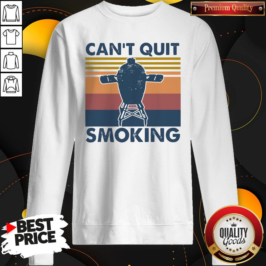 Love Can't Quit Smoking Vintage Sweatshirt - Design By Waretees.com