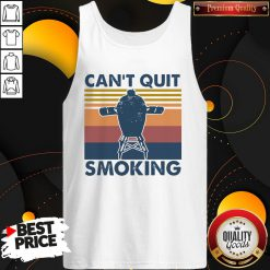 Love Can't Quit Smoking Vintage Tank Top - Design By Waretees.com