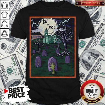 Love Cu Vs Bc Tiger Halloween Shirt - Design By Waretees.com