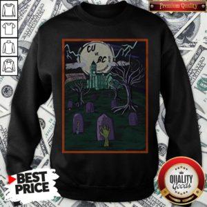 Love Cu Vs Bc Tiger Halloween Sweatshirt - Design By Waretees.com