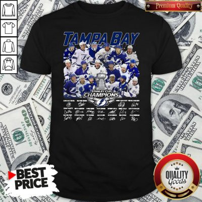 Love Tampa Bay Stanley Cup Champions Signature Shirt - Design By Waretees.com