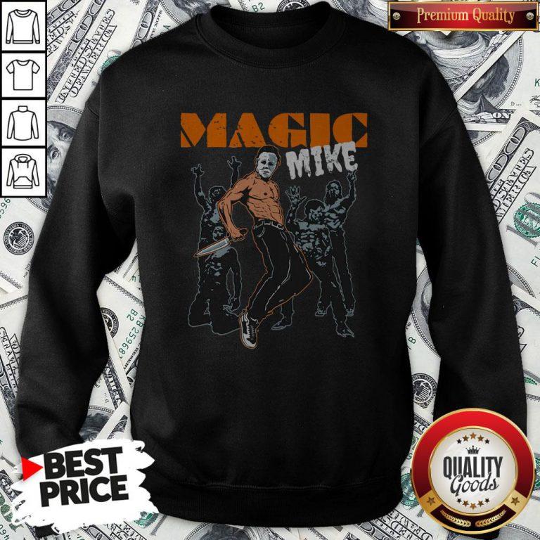 Michael Myers Magic Mike HalloMichael Myers Magic Mike Halloween Sweatshirtween Sweatshirt
