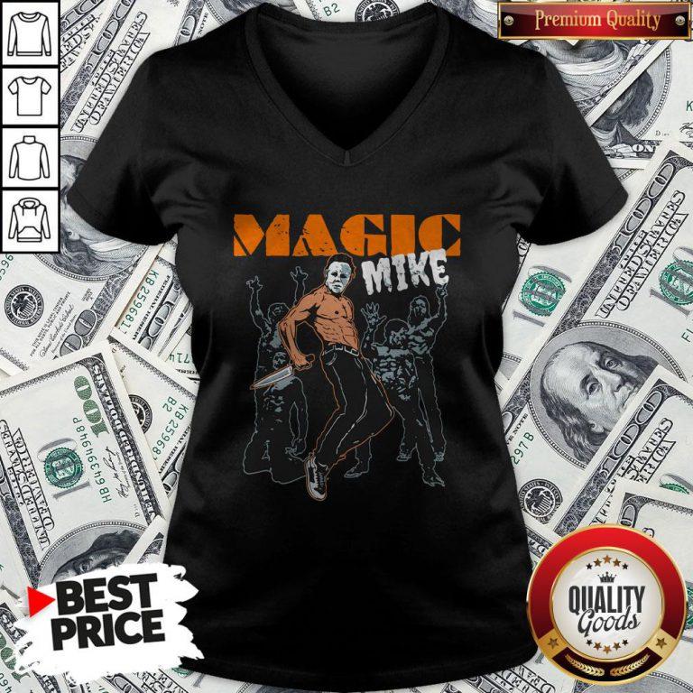 Michael Myers Magic Mike Halloween V-neck