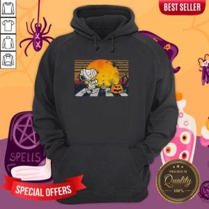 Mummy Snoopy Woodstock Pumpkin Hoodie