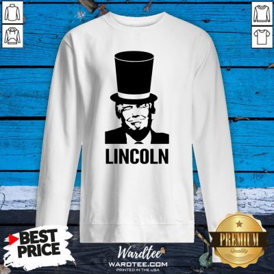 Nice Abraham Lincoln 2020 Art Sweatshirt Design By Waretees.com