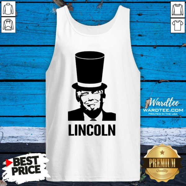 Nice Abraham Lincoln 2020 Art Tank Top Design By Waretees.com