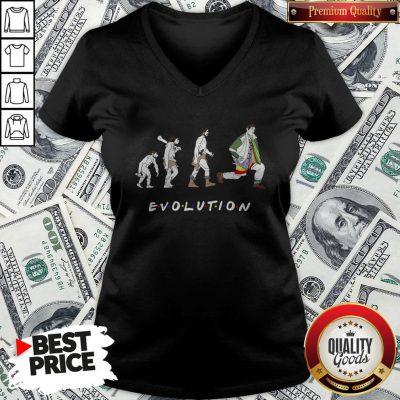 Nice Dr Ramoray Theory Evolution V-neck