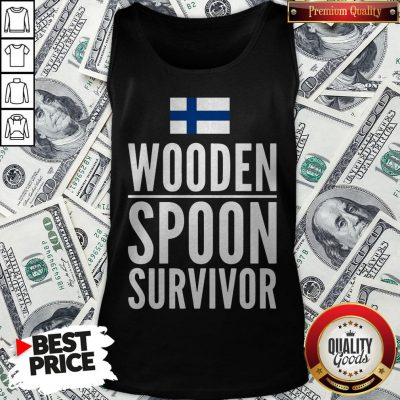 Nice Wooden Spoon Survivor Tank Top - Design By Waretees.com