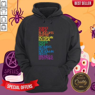 Science Is Real Black Lives Matter LGBT Halloween Hoodie