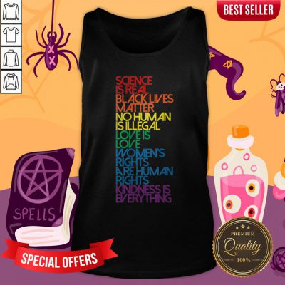 Science Is Real Black Lives MaScience Is Real Black Lives Matter LGBT Halloween Tank Toptter LGBT Halloween Tank Top
