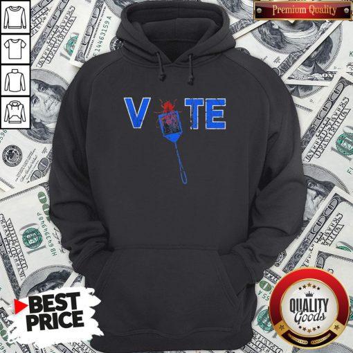 Vote Truth Over Flies Fly Swatter Biden 2020 Hoodie - Design By Waretees.com