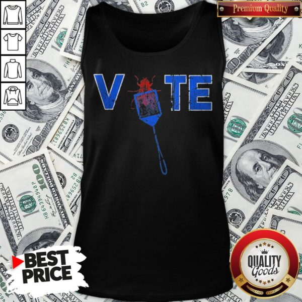 Vote Truth Over Flies Fly Swatter Biden 2020 Tank Top - Design By Waretees.com