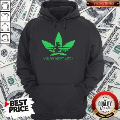 Weed World's Dopest Witch Adidas Halloween Hoodie