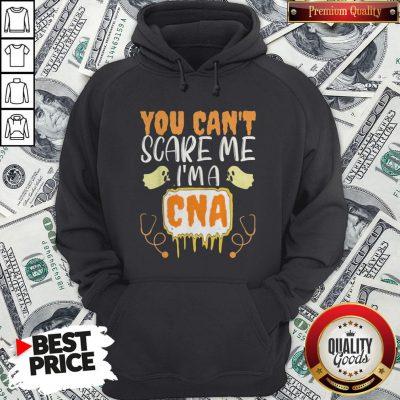 You Cant Scare Me I'm A CNA Halloween Nurse Hoodie - Design By Waretees.com
