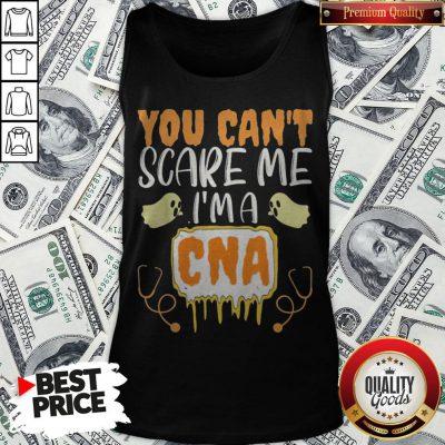 You Cant Scare Me I'm A CNA Halloween Nurse Tank Top - Design By Waretees.com