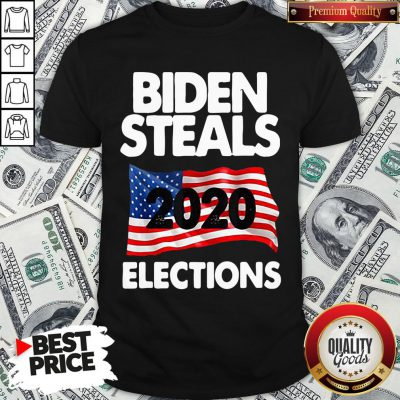 Awesome Biden Steals 2020 Elections Shirt