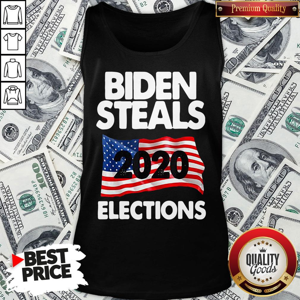 Awesome Biden Steals 2020 Elections Tank Top