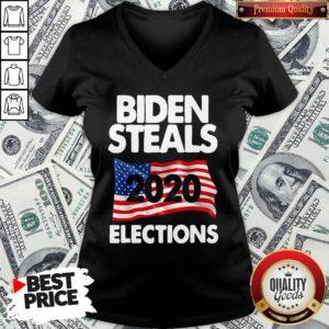 Awesome Biden Steals 2020 Elections V-neck