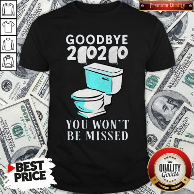 Awesome Goodbye 2020 You Won't Be Missed Toilet Shirt