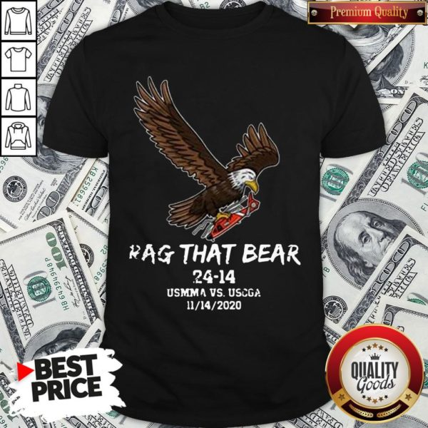 Awesome Rag That Bear 24 14 Usmma Vs. Uscga Shirt