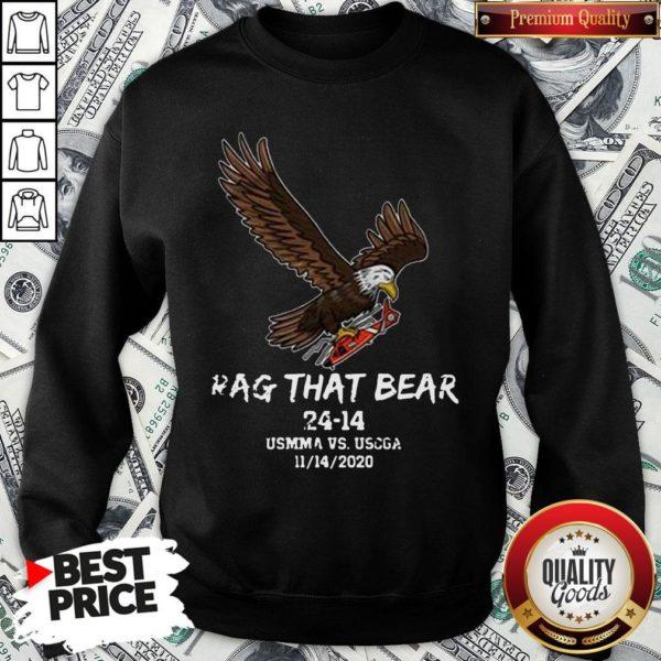 Awesome Rag That Bear 24 14 Usmma Vs. Uscga SweatShirt