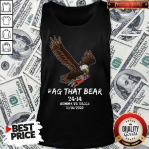 Awesome Rag That Bear 24 14 Usmma Vs. Uscga Tank Top